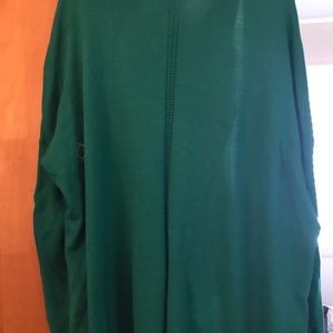 Limited Green cardigan.